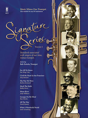 Signature Series Vol 1 Trumpet Solo Sheet Music Minus One Play-Along Book -