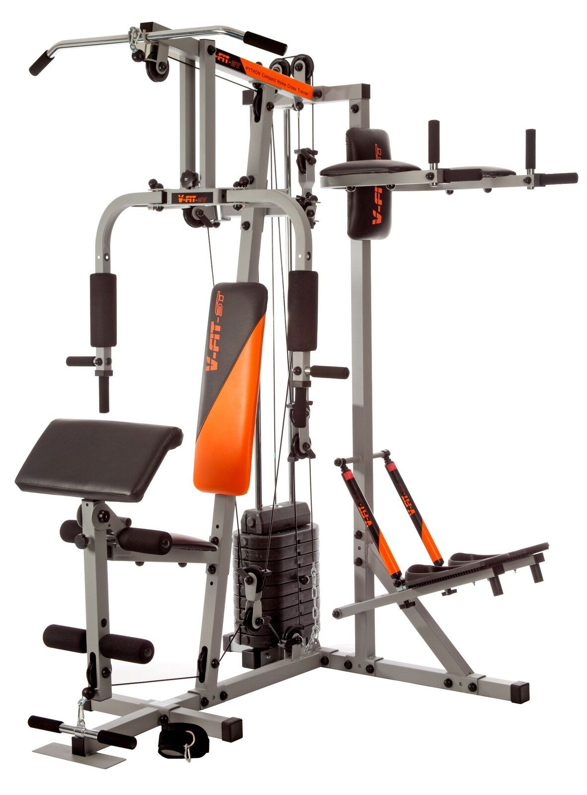 V-fit STG/09-3 Herculean Compact Python Home Multi Gym 100kg r.r.p 600.00