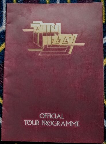 RARE Thin Lizzy Johnny The Fox Official Tour Program 1976 + choice of books.