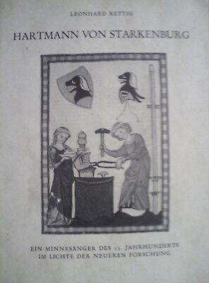 Jahrhundert Ein Licht (Hartmann von Starkenburg - Ein Minnesänger des 13. Jahrhunderts im Lichte der...)