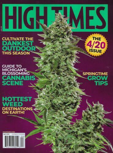 High times Magazine April 2020