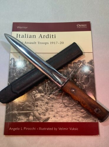 Italian WW1 ARDITI Dagger Special Forces Very RARE Trench Raiding Knife ANOI