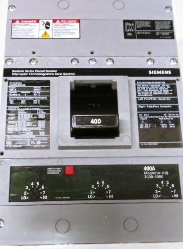 SIEMENS HJXD63B400 400 AMP CIRCUIT BREAKER NEW