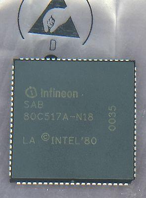 Infineon SAB80C517A-N18 Mikrocontroller 8-Bit 18MHz PLCC-84 (SIEMENS)
