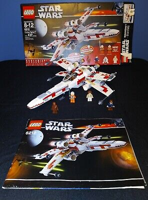 LEGO Star Wars X-Wing Fighter (6212), All pieces 100% intact, non smoking home