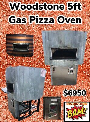 Woodstone Gas Hearth Pizza Oven Model Ws-ms-5-gg-ng- Natural Gas