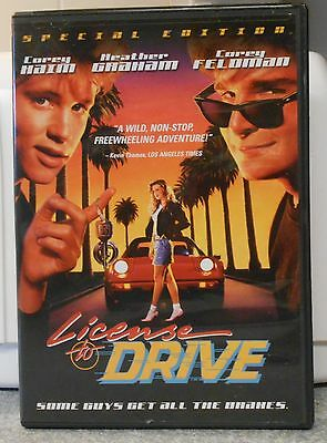 License To Drive (DVD, 2005, Special Edition) RARE 1988 COMEDY BRAND NEW