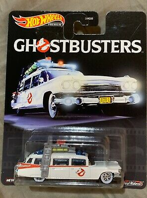 Hot Wheels Collectors Premium 2020  Ghostbusters Ecto 1 Pop Culture Retro