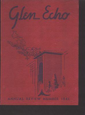 Glenville Pa Codorus Township High School Yearbook 1941 Pennsylvania