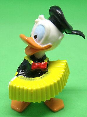 Ü Ei Donald mit Akkordeon Mütze schwarz Variante Donalds flotte Familie 1987