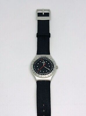 Vintage MEN'S SWATCH IRONY SWISS WATCH NEW BATTERY