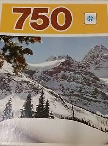 750 PIECE JIGSAW NEW by COPP CLARK, CANADA snow $7, 52 x 49cm Broadview Port Adelaide Area Preview