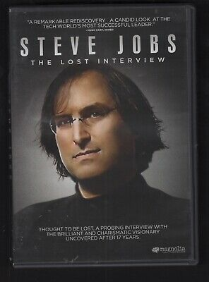 Steve Jobs: The Lost Interview (DVD, 2012)