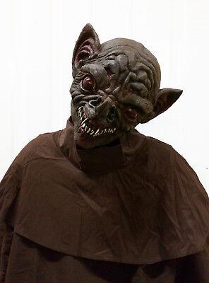edermaus Gargoyle Latex Gummi Maske Halloween Zubehör Neu (Unheimlich Fledermaus)