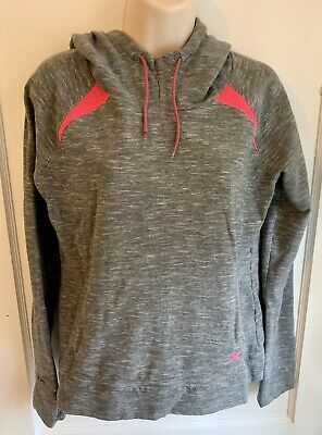 Womens Under Armour Hoodie Sweatshirt Size Medium Grey