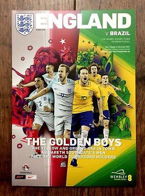ENGLAND V BRAZIL 14th November 2017
