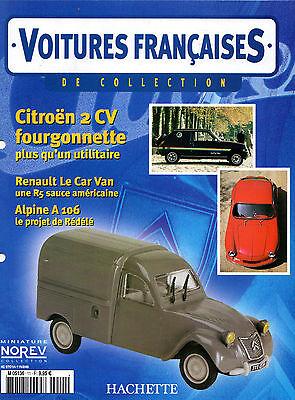 Cars French Hachette Specification No. 11 Citroen 2CV Van -