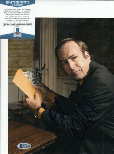 BOB ODENKIRK signed (BREAKING BAD) Better Call Saul 8X10 photo BECKETT T56600