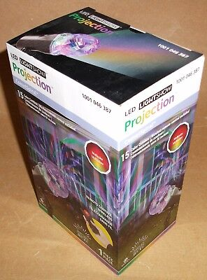 HALLOWEEN LED LIGHTSHOW PROJECTOR COMET SPIRAL 15 COLOR MOTION LIGHTS & REMOTE