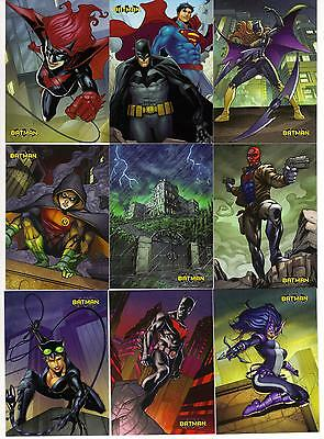 Cryptozoic Batman the Legend base set 1-63