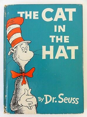 The Cat in the Hat by Dr. Seuss – Hardcover - 1957 First Edition - Random House