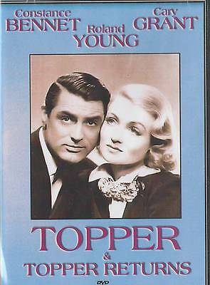 Topper , Topper Returns : Double Feature : Cary Grant DVD - Brand NEW (Topper Movies)