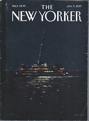 New Yorker Magazine January 9 2017: DONALD TRUMP Mike Mills DANIIL TRIFONOV