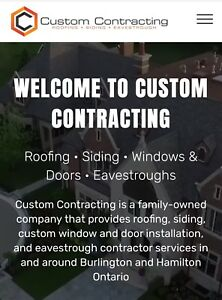 Emergency roof repairs. We work with you insurance.