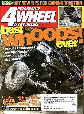Petersen's 4 Wheel & Off-Road Magazine April 2004 best whoops