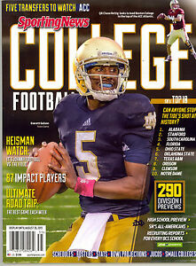 Sporting News College Football ~2013 Preview ~ 290 Division 1 Previews ~