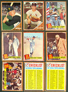 1962 Topps Lot NM