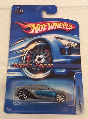 Hot Wheels 2006 #144 Bugatti Veyron 10 Spoke Wheels