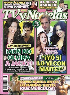 TV Novelas Magazine William Levy Danna Garcia Arturo Carmona Fernando Colunga