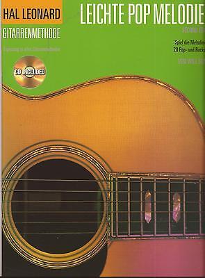 Gitarre Noten - LEICHTE POP MELODIEN - 20 Pop- und Rocksongs mit CD -sehr leicht