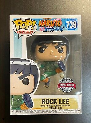 Funko POP! Naruto Shippuden Rock Lee Special Edition MINT BOX - IN HAND!