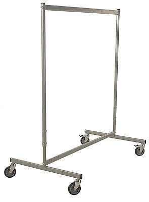Höhenverstellbarer Garderobenständer Kleiderständer Kleiderwagen Tragkraft 75kg