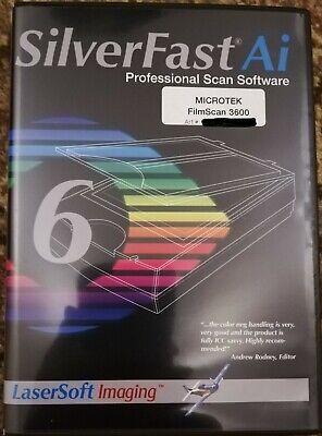SilverFast 6 Ai für Microtek FilmScan 3600 SoftWare, Buch,Paket, Passwort