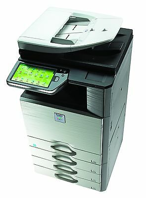 Sharp Mx-2610n Commercial Color Office Copier Network Printer Scanner