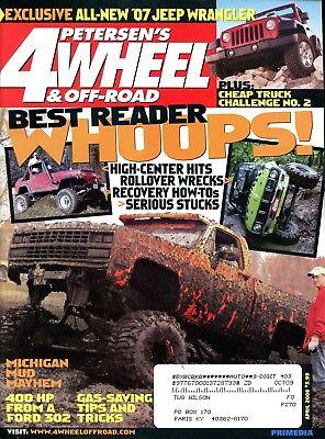 Petersen's 4 Wheel & Off-Road Magazine April 2006 Best Reader