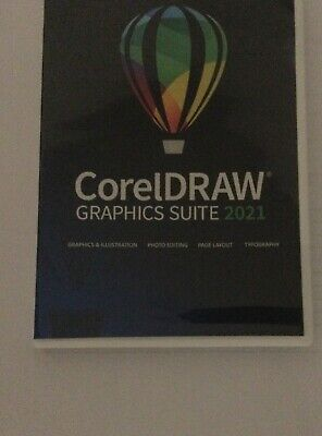 CorelDraw 2021 DVD Suite - Retail Version