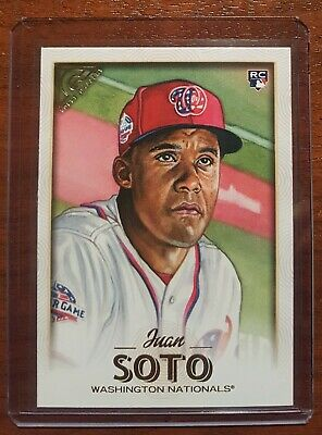 Juan Soto RC Rookie Card 2018 Topps Gallery #126 - Washington Nationals