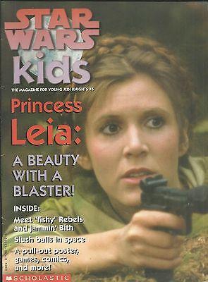 Star Wars Kids Magazine Carrie Fisher Princess Leia Rebels Poster Games Comics