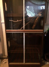 Custom made Double bay reptile tank Canley Heights Fairfield Area Preview