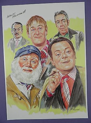 ONLY FOOLS & HORSES - Limited Edition Hand Signed Walt Howarth Print