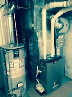 Furnace with complete installation 2999$