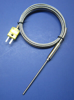 Insertion Probe Type (K-type Thermocouple Sensor High Temperature Stainless Steel Insertion Probe)