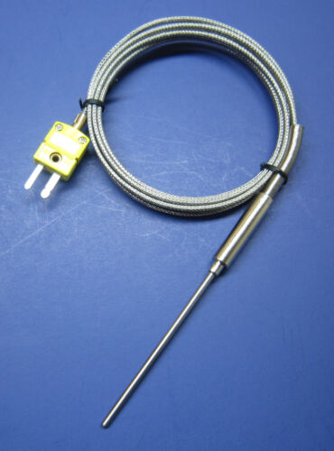 K-type Thermocouple Sensor High Temperature Stainless Steel Insertion Probe HT02