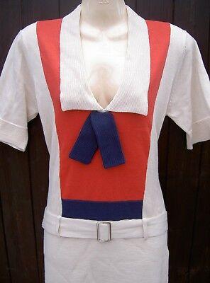 "BNWT SS 2008 BIBA SAILOR DRESS size ""M"" UK 12 - A PIECE OF FASHION HISTORY"