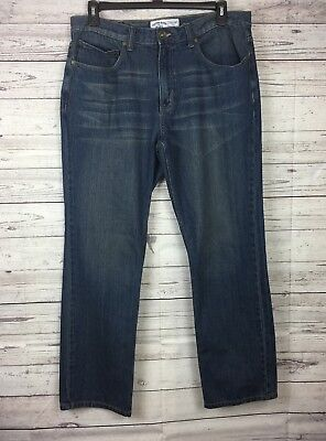 Canyon River Blues Men's Classic Fit Straight Leg Distressed Jeans Size 36 x 32 Canyon Classic Jeans