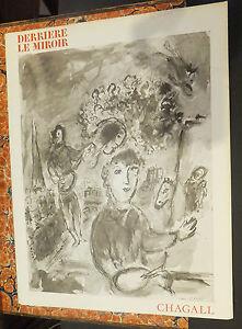 Marc chagall revue derri re le miroir 1977 num ro 225 for Chagall derriere le miroir